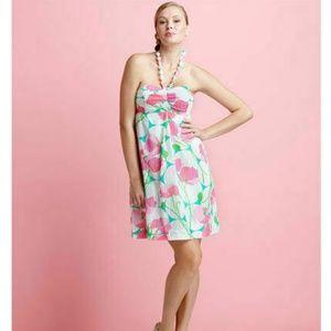 Lilly Pulitzer Betsey Had Me A Blast Halter Dress